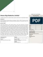 Profile_Amara Raja Batteries Limited