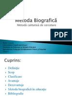 Metoda Biografica