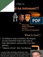 WAS GOD AN ASTRONAUTS