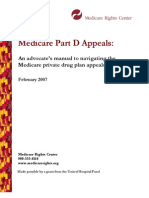 partd appeals manual