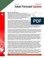 Scotia Bank, Global Forecast  Update, Feb 28, 2013