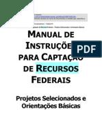 Manual de Instruções de Captação de recursos Federais para os Municípios