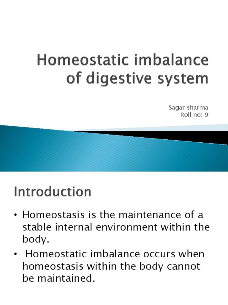 homeostatic imbalance