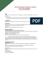 Introduction Eduction Conductive 04052009