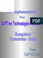 Business Process Overview Training License Trading Saptree Consulting Contracting