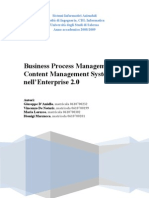 Business Process Management e Content Manager System