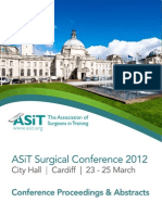 ASiT Conference Abstract Book, Cardiff 2012