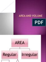 Area and Volume 1