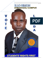 Simons Manifesto for RCC Namasagali campus Busitema University