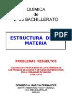 1 2 Estructura de La Materia Problemas Resueltos de Acceso a La Universidad