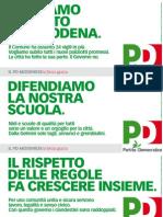 Campagna PD Modena