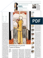 IL MUSEO DEL MONDO 12 - Violinista Alla Finestra Di Henri Matisse (1918) - La Repubblica 17.03.2013