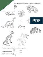 Fisa Ce Mananca Dinozaurii