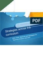 edu 704 strategies across the curriculum