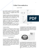 Celda Fotoconductiva