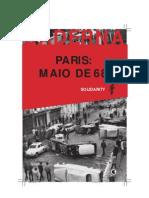 Paris maio de 68 - SOLIDARITY - COLEÇÃO BADERNA