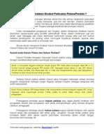Hukum Pidana & Perdata