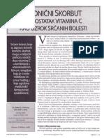 Nedostatak Vitamina C Uzrok Srcanih Bolesti