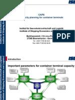 KAPACITET TERMINALA Caps Eng Presentation