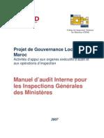 Manuel d'audit Interne pour les inspections générales des ministeres