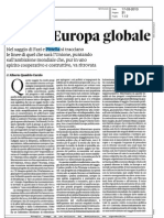 Per un'Europa Globale
