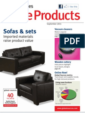 8c4c12b5a4a4 Sofas & sets: Imported materials raise product value