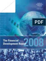 Financial Development Report - World Economic Forum - 2008