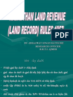 Land Record Rules -Tra