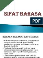 Sifat Bahasa