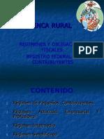 01 Regimenes y Obligaciones Fiscales