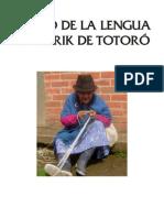 Léxico de la Lengua Namtrik de Totoró