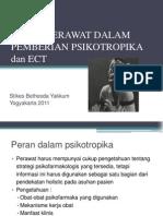 Peran Perawat Dalam Pemberian Psikotropika Dan Ect