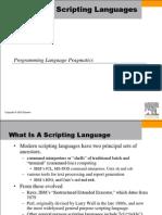 13~Chapter 13. Scripting Languages