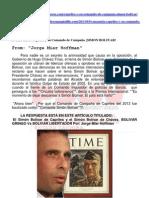 El Simón Bolívar de Capriles y el Simón Bolívar de Chávez