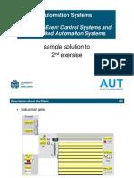 Sample Solution Exercise PLC Programmingplc