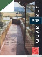Frank Lloyd Wright - Architect of Landscape