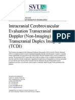 Intracranial Cerebrovascular TCDI