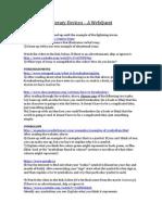 elements of fiction  a webquest