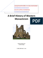 A Brief History of Western Monasticism