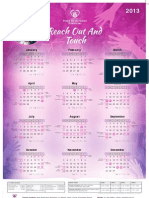 Hope Restoration Ministries - Calendar 2013