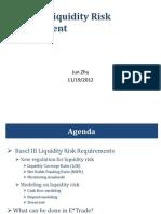 Basel III Liquidity Risk Management v1.2