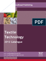Catalogue Textile Technology 2013