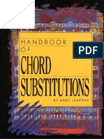 Andy Laverne - Handbook of Chord Substitutions