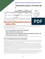 Structura de Rezistenta Pentru Proiecte de Case Si Vile