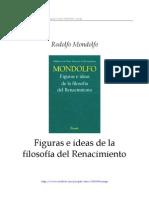 Rodolfo Mondolfo - Figuras e ideas de la filosofía del Renacimiento