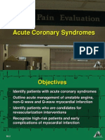 Acute Coronary Syndromes (Myocardial Ischemia and Infarction)