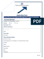 PRA Application Form 2012 2