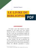 Anatole France = Livre Du Bibliophile