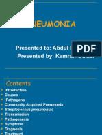 Pneumonia by Kamran UOSargodha