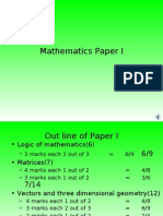 Board Revision Maths Paper I